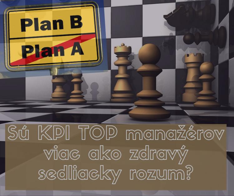 Sú KPI TOP manažérov viac ako zdravý sedliacky rozum_