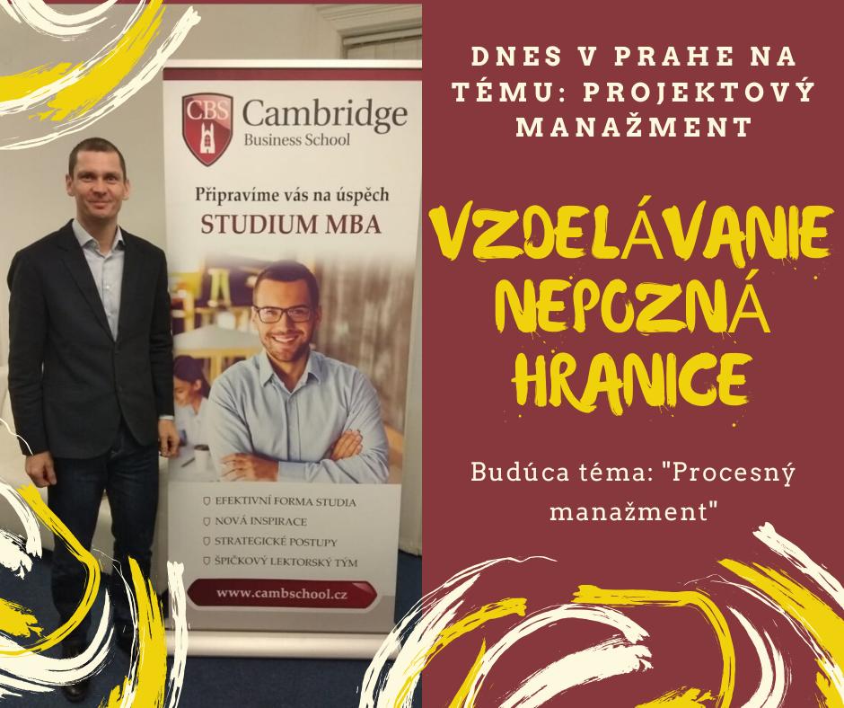 Projektový manažment v Prahe